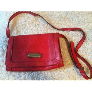 Liz Claiborne Faux Alligator Leather Handbag